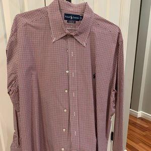 Ralph Lauren long sleeve button down, 18 36/37